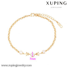 73965 Xuping Hot sales Woman Jewelry Gold Star Bracelet