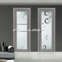 Beautiful whole sale aluminum door/bathroom door/interior door modern design