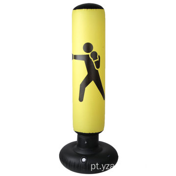 Vertical Inflatable Pvc Thickening Boxing Pillar Tumbler Fitness Reflex Boxing Stand Bags