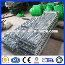 Good Quality Hot dipped galvanized 1.8m Steel Y Picket Post/Star Post