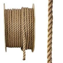 Factory price PP split film twisted rope 3/4 strands