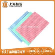Крест сетки ткань spunlace nonwoven для сухой салфетки
