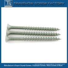 Hohe Korrosionsbeständigkeits-Senkkopf-Decking-Schrauben