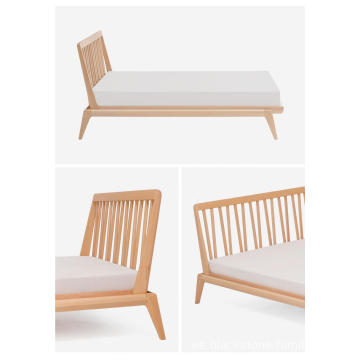 """HIGH BACK"" BED Muebles de madera"