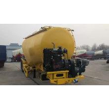 V--shape Bulk Cement Powder Tanker Semi Trailer