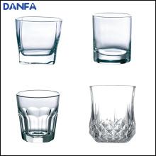 10 oz / 300 ml de base ronde supérieure carré de verre de whisky
