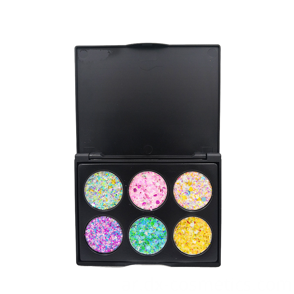 6 Colors Gligger Eye Shadow 11