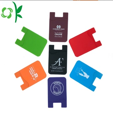 Keo in điện thoại di động Sticker Silicone Card Holder
