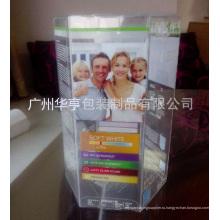 Хорошее качество печатных шестиугольника Пластиковый дисплей (коробка упаковки подарка)