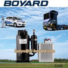 Boyard r134a bldc 12V btu3000 electric dc scroll compressor for electric vehicle system
