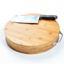 Bamboo Round Cutting Board Butcher Chopping Board