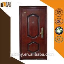 High evaluation security door with transfer-printing