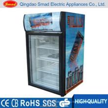 Стеклянная дверь мини холодильник витрина