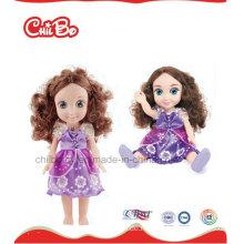 2016 heiße feste Baby-Puppe-Art- und Weisevinylpuppe für Mädchen-Prinzessin-Puppe
