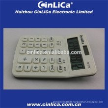 big LCD display calculator white with tax function