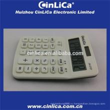 Белый ЖК-дисплей с калькулятором белого цвета с функцией сбора налогов