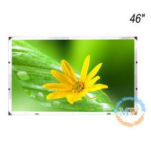 "Sem moldura moldura aberta TFT 46 ""monitor LCD com alto brilho"