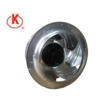 115V 310mm Chine usine turbine en aluminium ventilateur arrière centrifuge