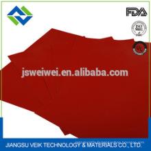 Rideau de tunnel de rétrécissement de fibre de verre de caoutchouc de silicone 0.25mm résistant à la chaleur