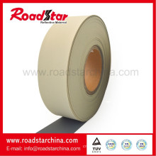 PVC foam reflective leather for shoe