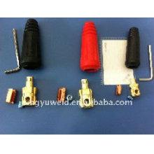 Conector de cabo e tomada de cabo / equipamento de soldagem