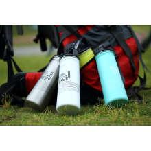 Ssf-580 Edelstahl Single Wall Outdoor Sports Wasserflasche Ssf-580 Kolben