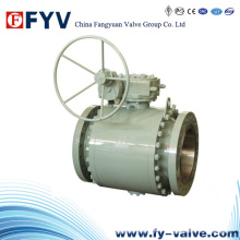 API 6D Forged Trunnion Mounted Ball Valve
