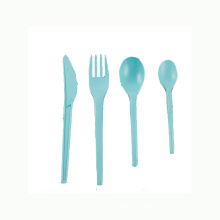 Disposable CPLA knife, spoon, fork with colors
