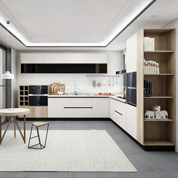 Quartz en forme de L simple et moderne Kitchentop