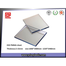 ESD PMMA Sheet with Perfect Transparency