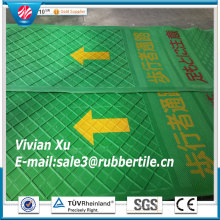 Pedestrian Rubber Path Way, Aisle Rubber Mat Sheet, Orientation Rubber Flooring