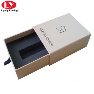 Boîte d'emballage de tiroir à rouge à lèvres avec mousse EVA