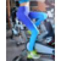 Бесшовные женские стрейч-градиентные печатные спортивные поножи