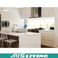Meubles modernes de Cabinet de cuisine de laque blanche de conception (AIS-k356)