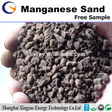 manganese and iron removal filter media high quality manganese sand