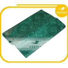 FEITEX African Wholesale Abaya Fabric Bazin Riche Guinea Brocade Damask Dyed Textiles Hand Made Jacquard