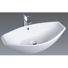 Lavabo de cerámica popular del lavabo de colada del cuarto de baño superior (1003)