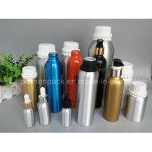 Botella de aceite de oliva de fragancia de aluminio con bomba de loción (PPC-AEOB-031)