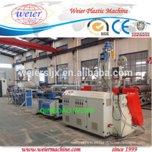 PP PE PVC acanaló la máquina de extrusión de manguera flexible