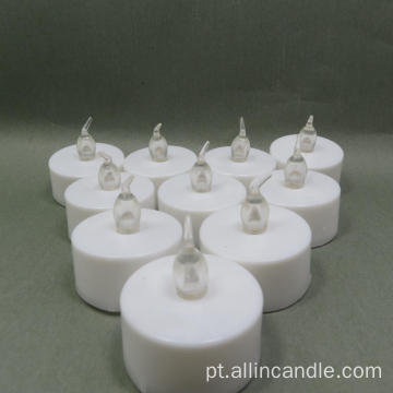 Eco Friendly Flameless PP party LED Velas