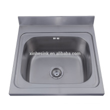 Stainless Steel 304 Commercial Hotel wallmounted Kitchen Sinks