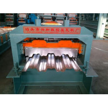 Metal Roofing Groove Deck Panel Roll Forming Machine