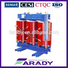 0.4kv 315kva fonte résine type sec transformateur de puissance