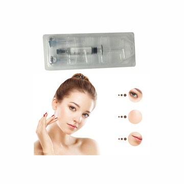 Injection faciale pure de sein de gel d'acide hyaluronique 5ML pour le muscle de pomme de forme