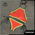 Neckholder High Neck Ethnic handgemachte Häkel-Badeanzug