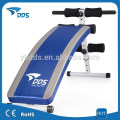 Deluxe portable ab disminución sit up /supine Banco ejercitador fitness del tablero