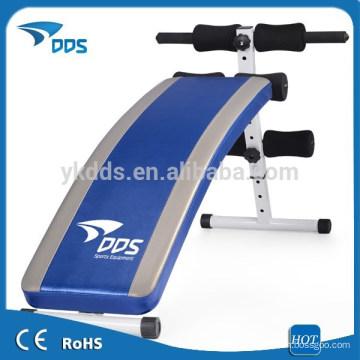 Deluxe portable Ab Rückgang Sit up Bank /supine Fitness Trainingsgerät an Bord