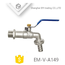 EM-V-A149 Brass Stop Bibcock with handle water tap garden faucet