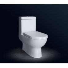 Toilette monobloc en céramique siphonique pour salle de bain