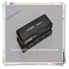 Splitter commutateur HDMI 3 ports à chaud pour HDTV HD 1080P